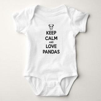 I love pandas baby bodysuit by Datone_kid