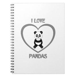 I Love Pandas Notebook