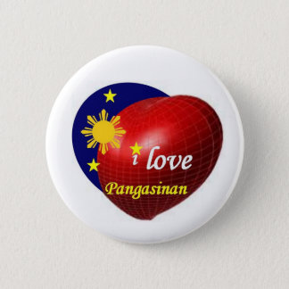 I love Pangasinan 2 Inch Round Button