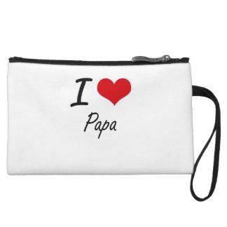 I Love Papa Wristlets