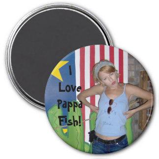 I Love Pappa Fish! Magnet