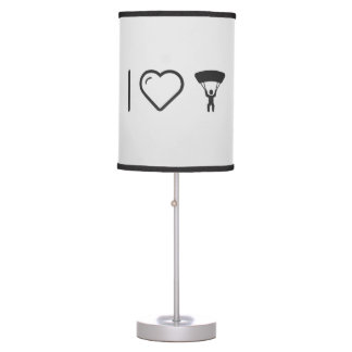 I Love Parachute Exhibitions Table Lamp