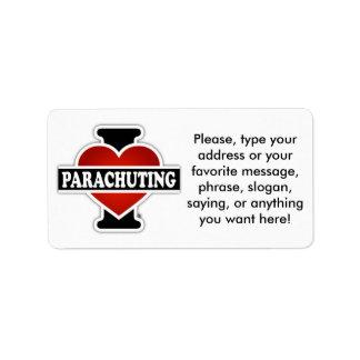 I Love Parachuting