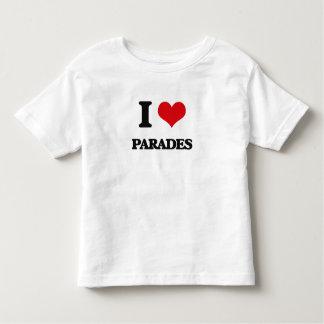 I Love Parades Toddler T-shirt