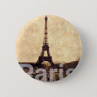 I Love Paris 2 Inch Round Button