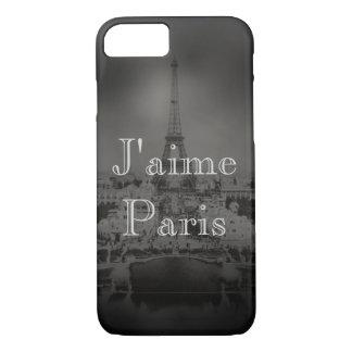 I Love Paris A Vintage Paris iPhone 7 Case