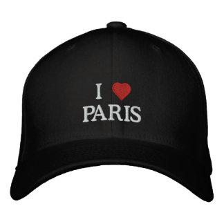 I Love Paris Embroidered Hat