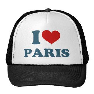 I Love Paris Hats