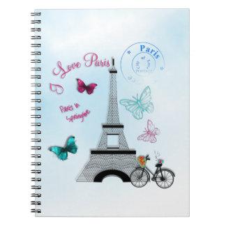 I Love Paris In Springtime Notebook