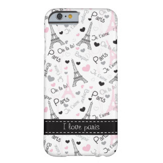 I Love Paris iPhone 6 case Phone Case