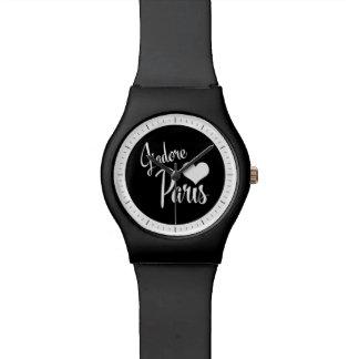 I Love Paris - J'adore Paris Vintage Style Wrist Watches