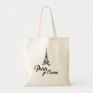 I Love Paris Je t'aime Tote Bag