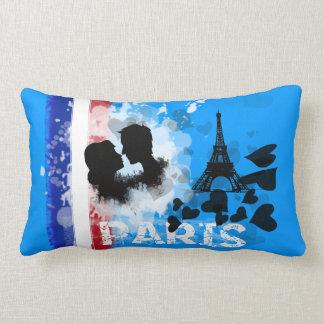 I Love Paris Lumbar Pillow