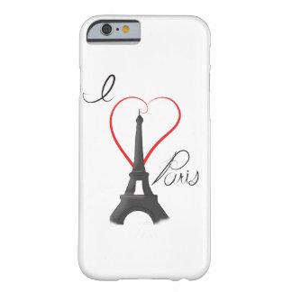 I Love Paris Phone Case