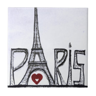 I love Paris Tile