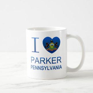 I Love Parker, PA Coffee Mug