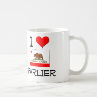 I Love PARLIER California Coffee Mug