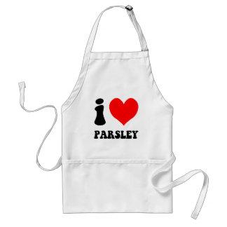 i love parsley standard apron