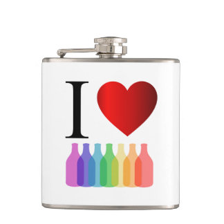 I love party or alcohol flask