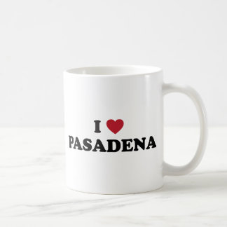 I Love Pasadena California Coffee Mug