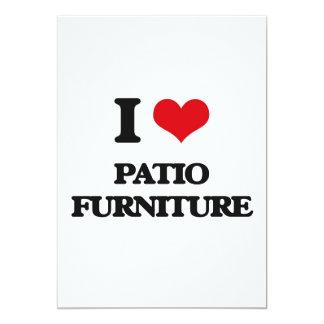 "I Love Patio Furniture 5"" X 7"" Invitation Card"