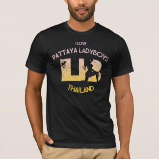 I Love Pattaya Ladyboys T-Shirt