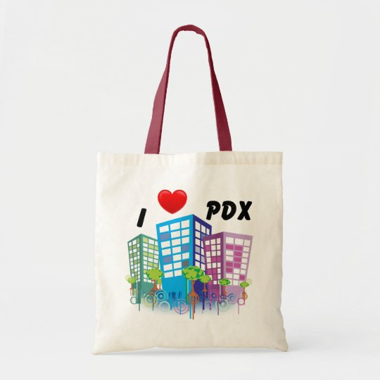 I LOVE PDX Tote Bag
