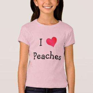 I Love Peaches T-Shirt