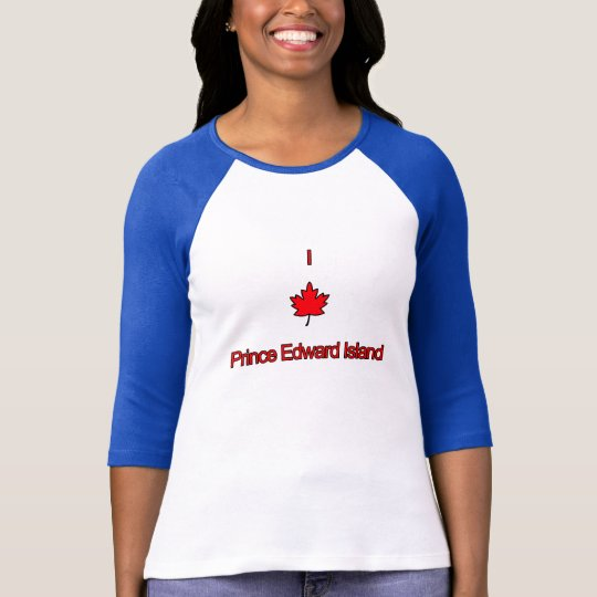 I Love PEI Prince Edward Island T-Shirt