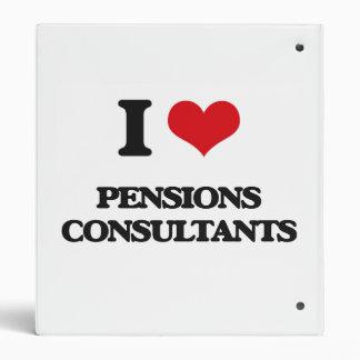 I love Pensions Consultants Vinyl Binders