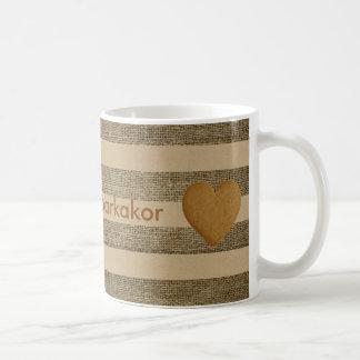 """I love pepparkakor"" - Gingerbread, jute canvas Coffee Mug"