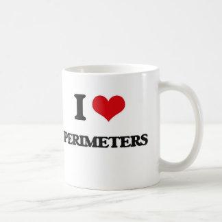 I Love Perimeters Coffee Mug