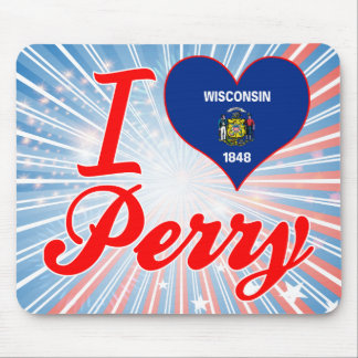 I Love Perry, Wisconsin Mouse Pads