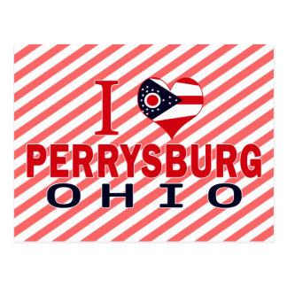 I love Perrysburg, Ohio Postcard