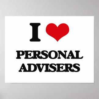 I love Personal Advisers Print