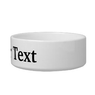 I Love Personalisable Add Text Dog or Cat Bowl