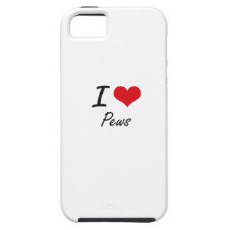 I Love Pews iPhone 5 Covers