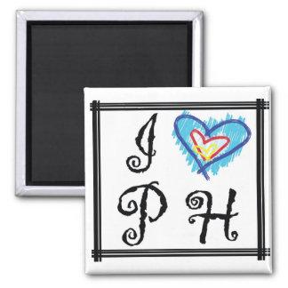 I Love PH Ref Magnet