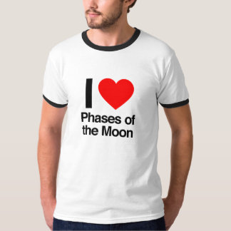 i love phases of the moon T-Shirt