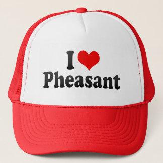 I Love Pheasant Trucker Hat