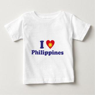 I Love Philippines Baby T-Shirt