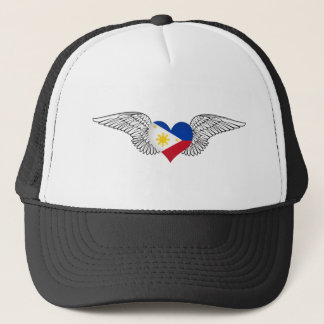 I Love Philippines -wings Trucker Hat