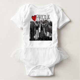 I love Phoenix Baby Bodysuit