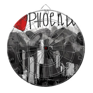 I love Phoenix Dartboard
