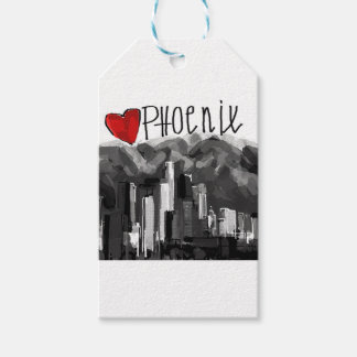 I love Phoenix Gift Tags