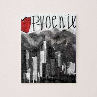 I love Phoenix Jigsaw Puzzle