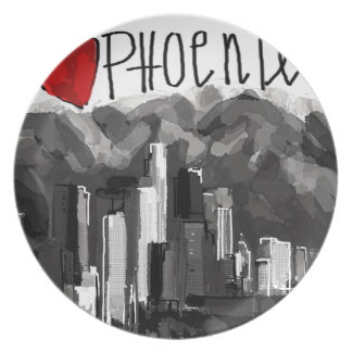 I love Phoenix Plate