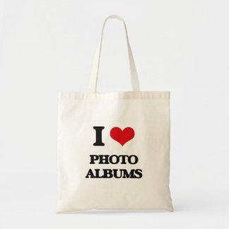 I Love Photo Albums Bag