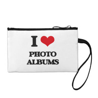 I Love Photo Albums Coin Wallets