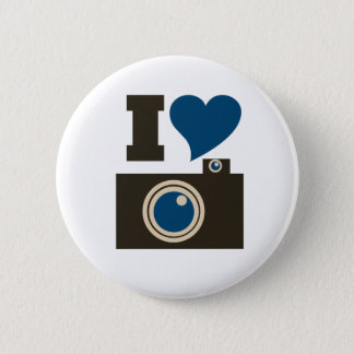 I Love Photography for Women 2 Inch Round Button